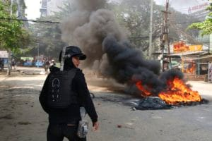 Myanmar, coup, army, army coup, myanmar army, protest, firing