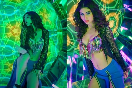 A day earlier on March 16, a song by Mouni Roy 'Patli Kamariya' was released, which is sung by Tanishq Bagchi.  With the release, the video of this song has become viral on social media.  (Video Grab Youtube)