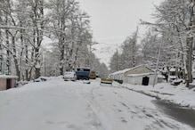 Weather in Himachal: चोटियों पर हिमपात, मैदानों में बरसे बादल