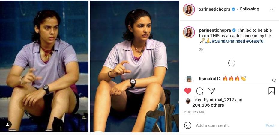 Parineeti Chopra, Saina Nehwal, Parineeti Chopra, Saina Movie, Saina Nehwals Biopic