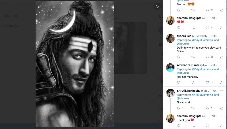Vidyut Jamwal, Vidyut Jamwal, Lord Shiva, Twitter Post, Bollywood Actor