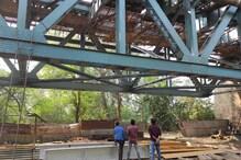 रेलवे ट्रैक रिपेयरिंग के दौरान सपोर्ट जाल टूटा, एक मजदूर की मौत