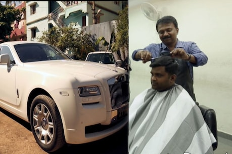 Ramesh Babu, who runs the salon, owns 378 luxury cars.