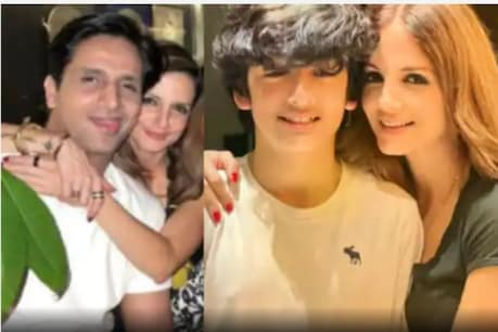 Arslan Goni wishes Suzanne's son a birthday.  (Photo: network 18)