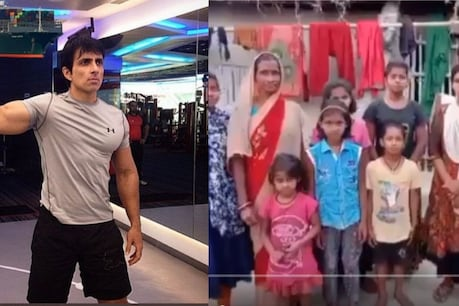 Sonu Sood helped a family.  (Photo courtesy: sonu sood / twitter)