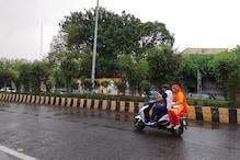 पश्चिमी उत्तर प्रदेश में बदला मौसम का मिजाज, मेरठ में झमाझम बारिश