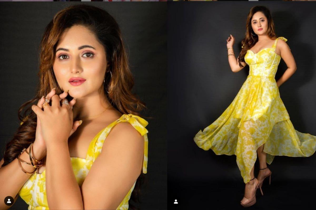 मुंबई : छोटे पर्दे पर फेमस एक्ट्रेस रश्मि देसाई (Rashami Desai) अपनी ग्लैमरस फोटो (Glamourous Photos) शेयर कर सुर्खियों में बनी रहती हैं. रश्मि ने अपने इंस्टाग्राम अकाउंट पर कुछ फोटो शेयर किए हैं जिन्हें फैंस बेहद पसंद कर रहे हैं. इन फोटो में रश्मि ने पीले रंग के ड्रेस पहन कर सोशल मीडिया पर पॉजिटिविटी बिखेर दी है. पीले रंग को पॉजिटिव एनर्जी का प्रतीक माना जाता है और रश्मि ने भी अपने गॉर्जियस अवतार से अपने फैंस को यही संदेश देने की कोशिश की है. (फोटो साभार : mrashamidesai/Instagram)