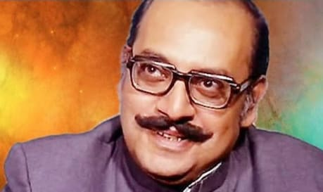 Today is March 29, the birthday of Utpal Dutt.  (YouTube)