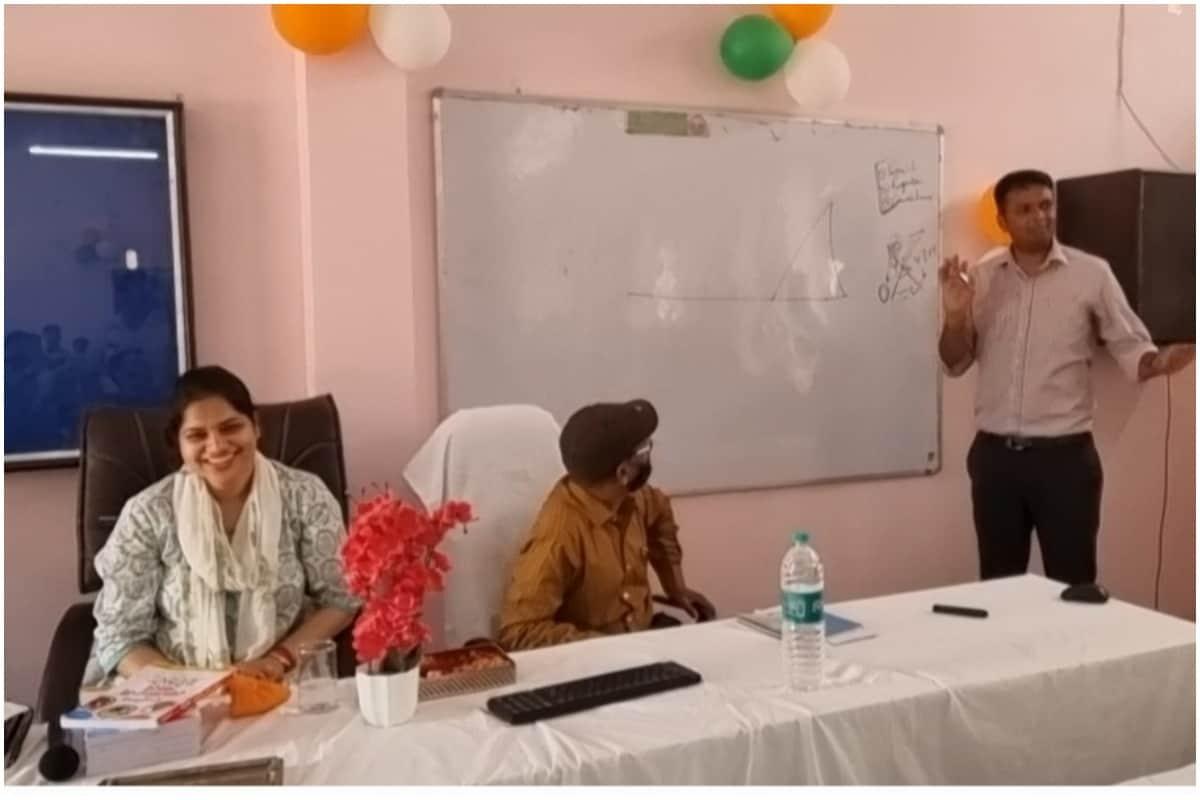 Rishi Raj and Isha Priya