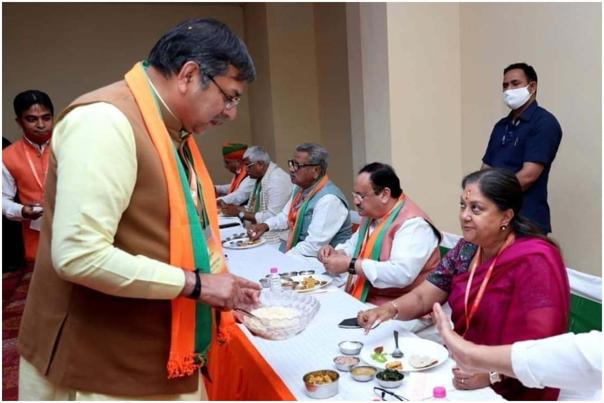 Satish Poonia, Vasundhara Raje, Hanuman Beniwal, BJP, Rajasthan News, सतीश पूनिया, वसुंधरा राजे, हनुमान बेनीवाल, भाजपा, राजस्थान न्यूज़
