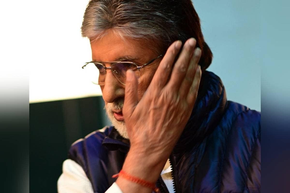 अमिताभ बच्चन की आंख की हुई सर्जरी, कहा- 'खाली बैठा हूं, ज्यादातर समय मेरी आंखें बंद हैं'