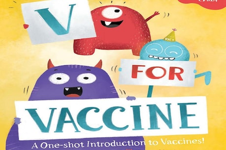 With the book 'We for Vaccine', you can easily explain to children about Corona and Vaccine Image Credit: harpercollins.co.in