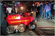 अहमदाबाद: फैक्ट्री में लगी आग को बुझाने आया एक रोबोट, जानें इसकी खूबियां