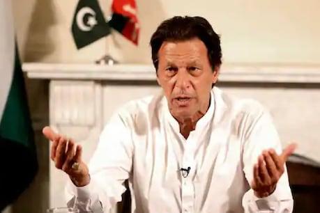 इमरान खान को बड़ा झटका लगा।  (फोटो फोटो)