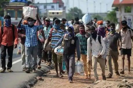 लॉकडाउन में गरीब मजदूर और निर्माण मजदूरों पर रोजी रोटी का संकट गहरा गया है. (File Photo)