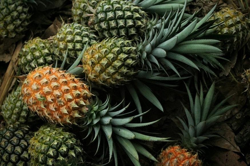 taiwan and china pineapple