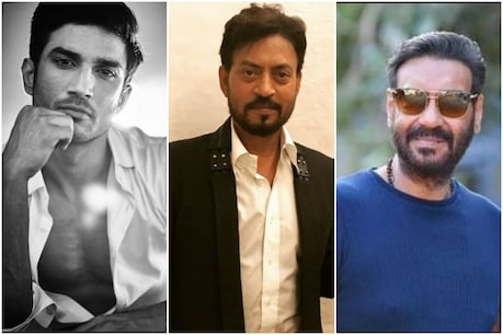 Ajay Devgn, Irrfan Khan and Sushant Singh Rajput have been nominated for the Best Actor category of Filmfare Awards 2021. (Photo courtesy: Instagram / Ajaydevgn / irrfan / sushantsinghrajpu)