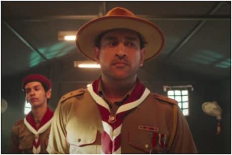 IPL 2021: एमएस धोनी ने बौद्ध भिक्षु बनकर सुनाई रोहित शर्मा के लालच की कहानी (Star Sports/Twitter)