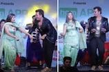 VIDEO: जब सपना चौधरी के साथ हरियाणवी गाने पर झूम उठे भाजपा सांसद रवि किशन!