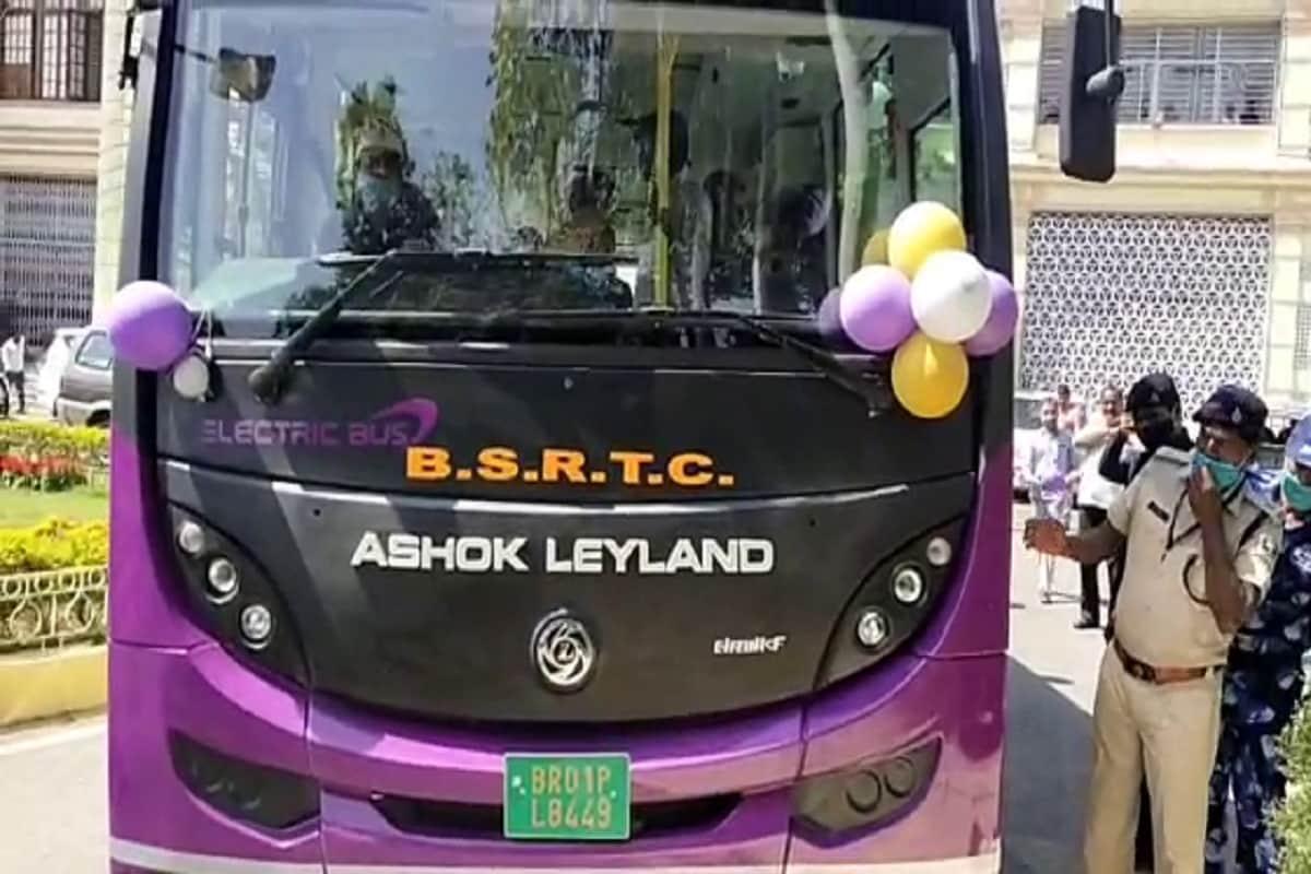 बिहार में इलेक्ट्रिक बस सेवा