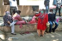 VIDEO: CM जयराम दौरे पर थे, कोविड सेंटर के बाहर तड़पती रही कोरोना पॉजिटिव महिला