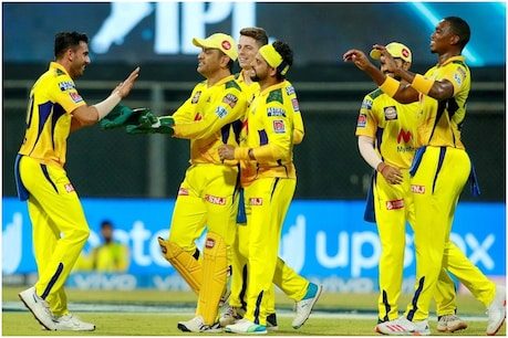 IPL 2021: चेन्नई सुपर किंग्स ने लगातार तीसरी जीत दर्ज की (PIC: PTI)