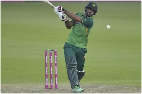 पाक बनाम SA: फखर जमान ने 155 गेंदों की अपनी पारी में 18 चौके और 10 छक्के लगाए।  (फोटो: AFP)
