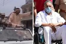 मुख्तार अंसारी: बाहुबली विधायक का जिप्सी की छत से व्हीलचेयर तक का सफर, देखिए तस्वीरें