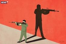 छत्तीसगढ़: सुरक्षा बलों और नक्सलियों के बीच गोलीबारी में तीन लोगों की मौत