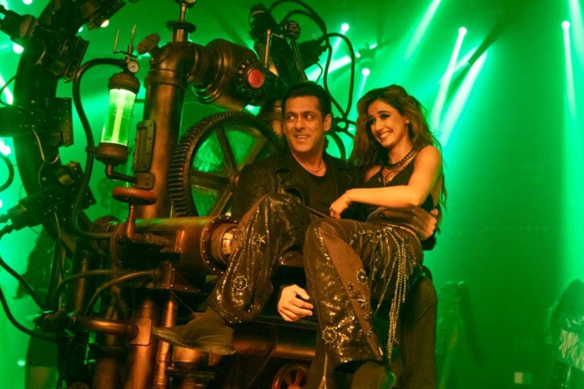 Salman Khan, Disha Patani, Radhe, Seeti Maar