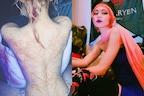 एलन मस्क की गर्लफ्रेंड ने शेयर की अपनी टॉपलेस PHOTO, पीठ पर बनवाया 'एलियन टैटू'