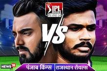 RR vs PBKS IPL 2021 Live Streaming: राजस्थान vs पंजाब के बीच चौथा मुकाबला