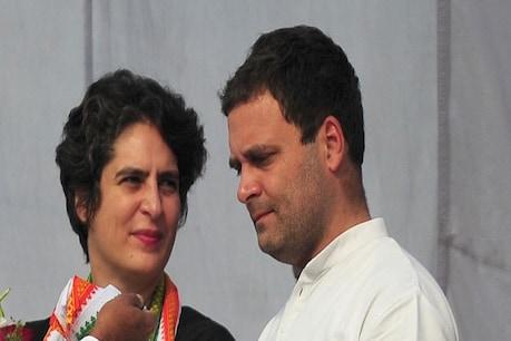 राहुल गांधी के साथ प्रियंका गांधी. (पीटीआई फाइल फोटो)