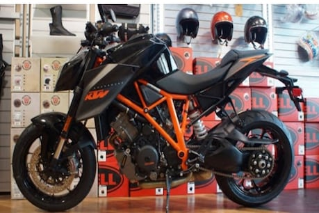 This superbike of KTM was booked in 48 minutes.