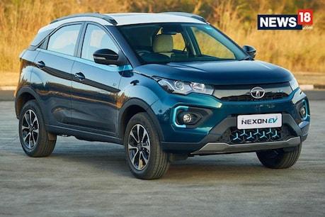 Tata Nexon Electric Car.