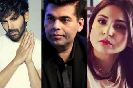 Karan Johar has rejected Anushka Sharma before Karthik Aryan in the early days of his career.
