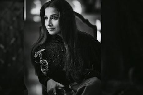 Vidya Balan is in discussion these days about her film 'Sherni'.  photo credit: @VidyaBalan instagram