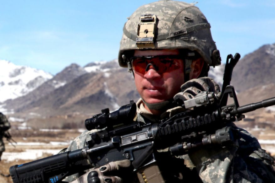 American army in Afghanistan