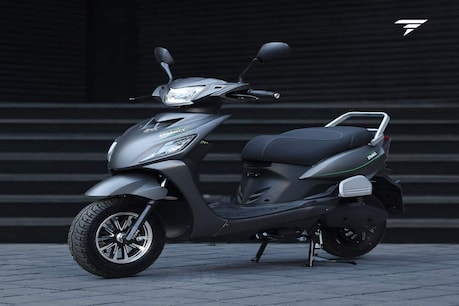 The bike comes with a 2.5 KWH lithium battery pack which takes four hours to charge.