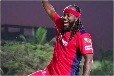 IPL 2021: क्रिस गेल ने मुंबई के खिलाफ ताबड़तोड़ बल्लेबाजी की (Punjab Kings Twitter)