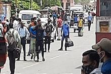 लखनऊ: बढ़ते कोरोना संक्रमण और लॉकडाउन की आहट के डर से प्रवासी मजदूरों का पलायन
