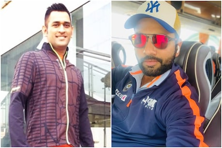 IPL 2021: रोहित शर्मा को है पीयूष चावला पर काफी यकीन (PC-एमएस धोनी, रोहित शर्मा इंस्टाग्राम)