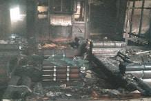 मकान में लगी आग, हरियाणा पुलिस के जवानों ने जान पर खेलकर बचाई परिवार की जान