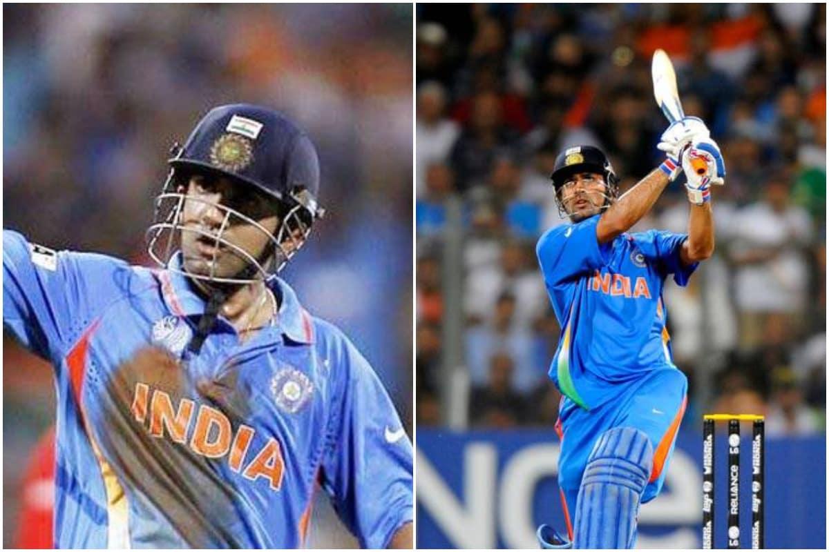 2011 odi world cup, ms dhoni, gautam gambhir, cricket news