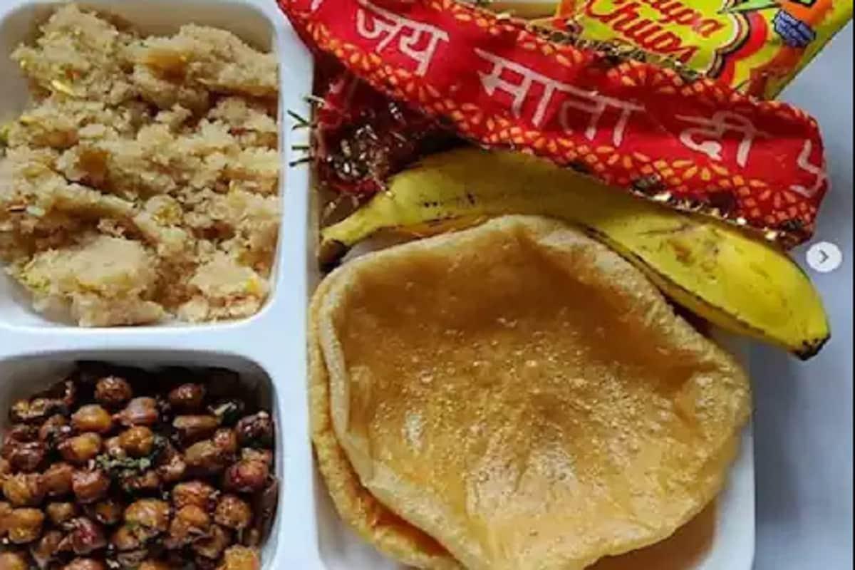 Halwa Puri Chana Prasad Recipe For Navratri Ashtami And Navmi: Halwa Puri  Chana Prasad Recipe: नवरात्रि में देवी मैया को करें प्रसन्न, लगाएं हलवा,  पूड़ी, चना प्रसाद का भोग – News18 Hindi