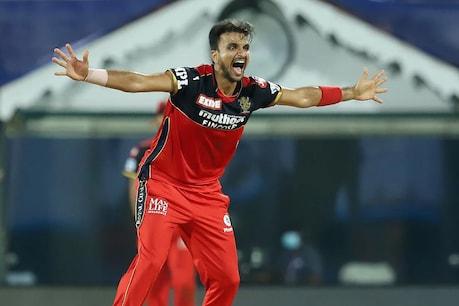 IPL 2021: हर्षल पटेल ने मुंबई के खिलाफ 5 विकेट लिए  (पीटीआई)
