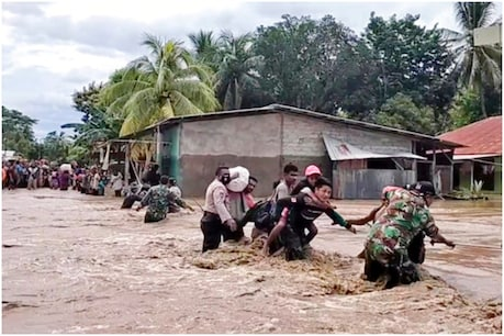 Indonesian disaster officials say at least 72 people are missing (photo-AP)