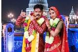 VIDEO: पर्दे पर कृष्ण कन्हैया बन हर्षिका संग रोमांस करेंगे Pawan Singh
