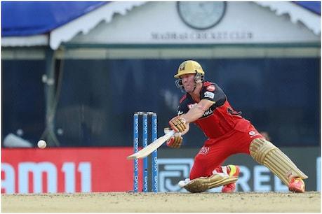 IPL 2021: एबी डीविलियर्स ने केकेआर के खिलाफ नाबाद 76 रन बनाए।  (पीटीआई)