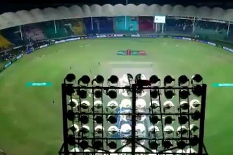 रिपोर्ट में कहा गया कि कराची में पाकिस्तान सुपर लीग 6 के आयोजन के दौरान जैव बुलबुले से समझौता किया गया था।  (ट्विटर)